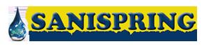 Sanispring Water Systems Marketing logo